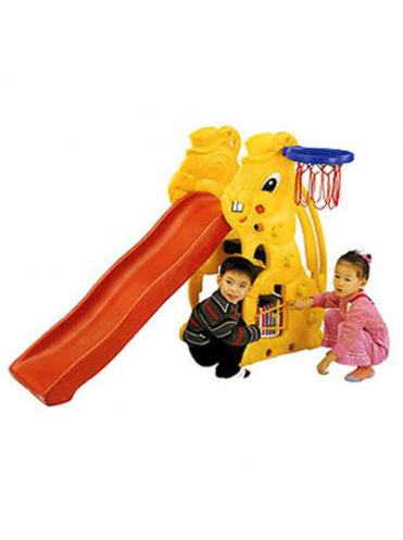 Детская пластиковая горка Кролик