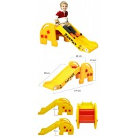 Детская пластиковая горка Edu-Play Жираф