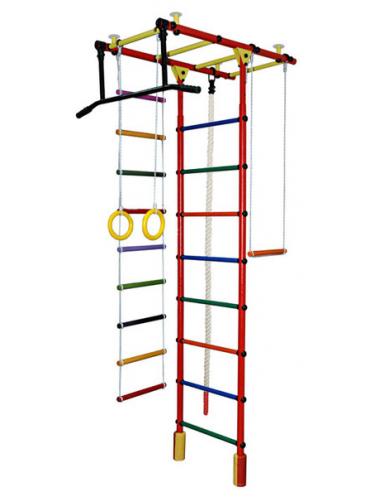 Шведская стенка Атлант-1С Плюс+ подарок мат гимнастический