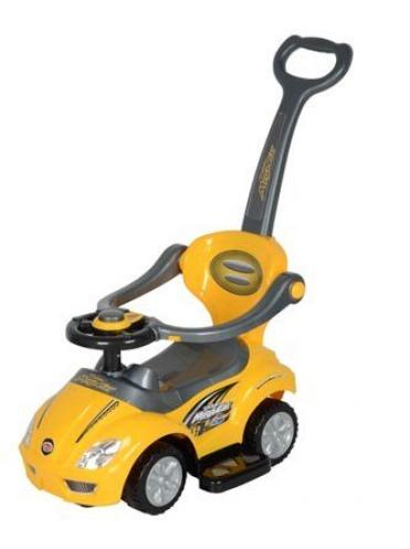 Детская каталка deluxe Mega CAR+ 3 в 1