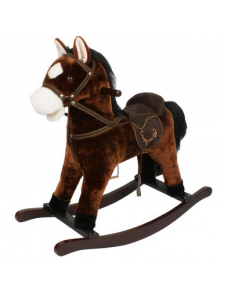Детская мягкая лошадка-качалка Yo Yo Rock GS2023