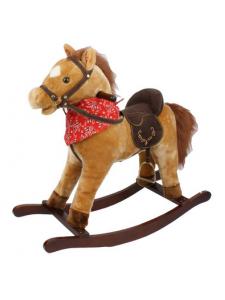 Детская мягкая лошадка-качалка Yo Yo Rock GS2021