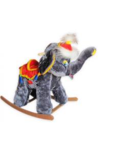 Детская мягкая качалка Слон Цирковой