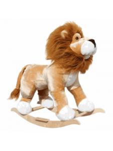 Детская мягкая качалка Лев