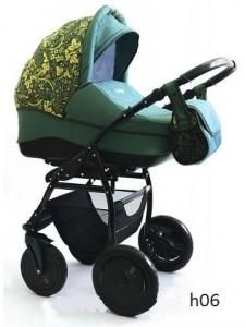 Модульная коляска Indigo Collection Hohloma 2 в 1