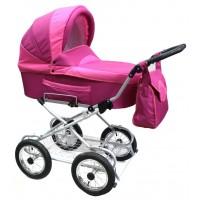 Классическая коляска Retrus Planet S на надувных колесах