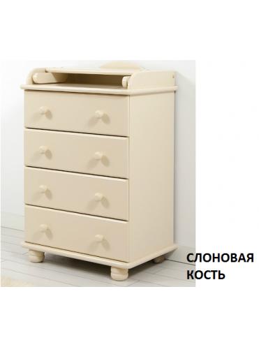 Комод с пеленальным столиком Аистенок mini Gandylyan