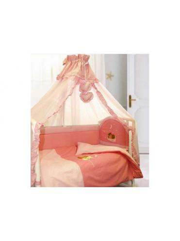 Комплект в кроватку Elite Вышивка 7 предметов