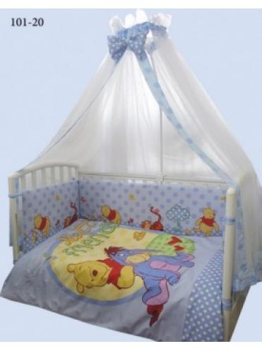 Комплект в кроватку Kids Comfort Дисней (принт) 7 предметов
