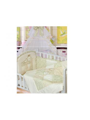 Комплект в кроватку Золотой Гусь Кошки-Мышки 7 предметов