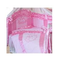Комплект в кроватку Золотой Гусь Птенчики 7 предметов
