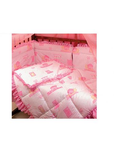 Комплект в кроватку Улитка 7 предметов