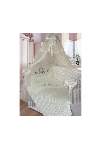 Комплект в кроватку Золотой Гусь Эстель 8 предметов
