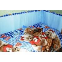 Комплект в детскую кроватку Плюшевые мишки 7 предметов