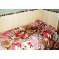 Комплект в детскую кроватку Плюшевые мишки 6 предметов