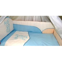 Комплект в детскую кроватку Радуга 6 предметов