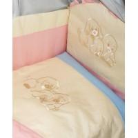 Комплект в детскую кроватку Радуга 7 предметов
