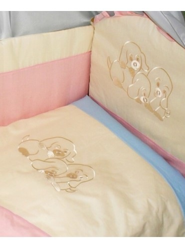Набор в кроватку Радуга 6 предметов