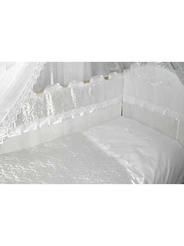 Набор в кроватку Снежинка 7 предметов