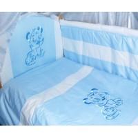 Комплект в детскую кроватку Вышивка 7 предметов