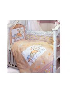 Комплект в кроватку Золотой Гусь Zoo Bear 7 предметов