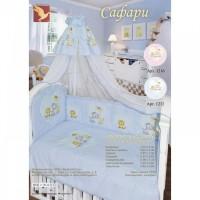 Комплект в кроватку САФАРИ 7 предметов