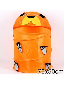 Корзина для игрушек Медведь оранжевый