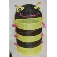 Корзина для игрушек Пчела желто-черная