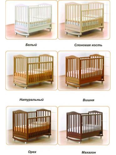 Детская деревянная кроватка Симоник Gandilyan