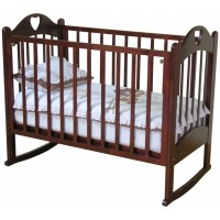 Детская деревянная кроватка Любаша С-635