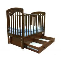 Детская деревянная кроватка Джулия маятник Gandylyan
