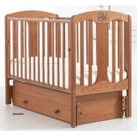Детская деревянная кроватка Диана маятник Gandylyan