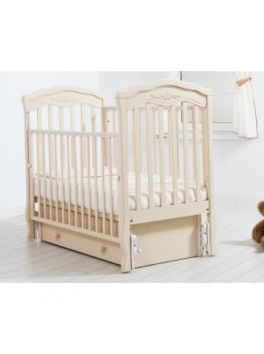 Детская деревянная кроватка Gandylyan Шарлотта маятник универсальный