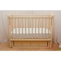 Детская деревянная кроватка Счастливый Малыш Кроха-2