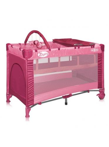 Кровать манеж Bertoni ZIPPY 2 Plus (два уровня)