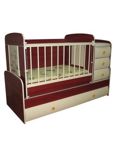 Детская кровать трансформер Multy Vip