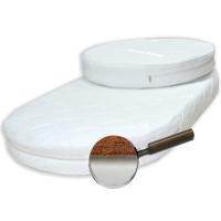 Комплект матрасов (круг+овал) 75*75 см, 75*125 см
