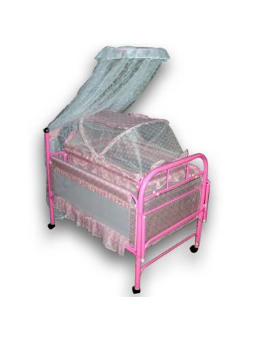 Металлическая детская кроватка Потягушки 228
