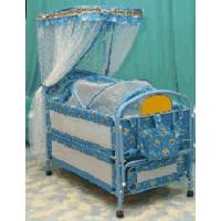 Металлическая детская кроватка Потягушки 259