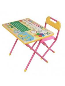 Набор детской мебели Деми-1 Глобус (синий, розовый)