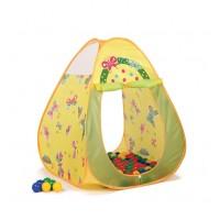 Игровой домик Бабочки конус + 100 шаров