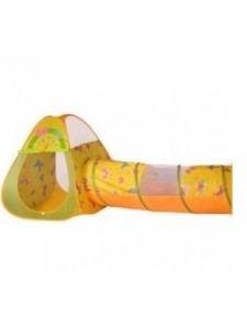 """Игровой домик """"Бабочки"""" (конус+туннель) + 100 шаров"""