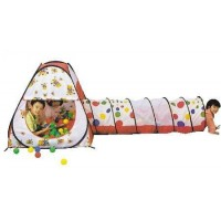 Игровой Дом конус + туннель + 100 шаров