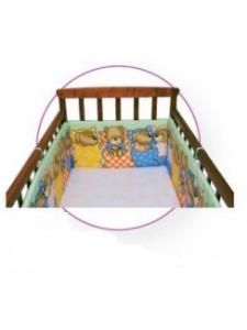 Бортик в детскую кроватку Мишка лежебока