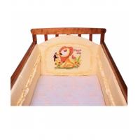 Бортик в детскую кроватку с апликацией Мама шила