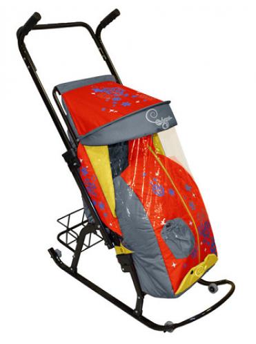 Санки-коляска Скользяшки Герда-42-Р2