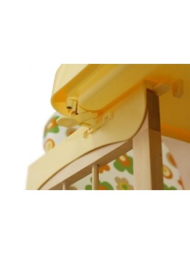 Стульчик для кормления трансформер Мишутка (с пластиковым столиком)