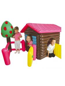 Надувной игровой комплекс Деревенский домик