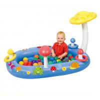 Сухой надувной бассейн Лесная полянка + 50 шаров