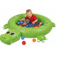 Сухой надувной бассейн Крокодил + 50 шаров